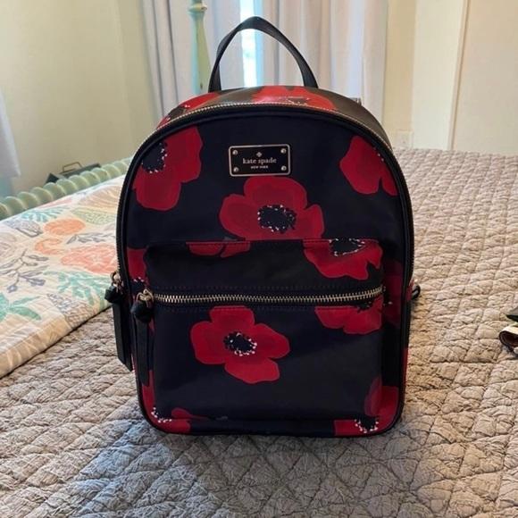 Kate Spade Wilson Road Bradley backpack, Poppy.